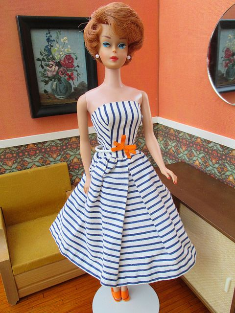 Sidepart Bubble Cut Barbie Home from the Spa. | Flickr - Photo Sharing!