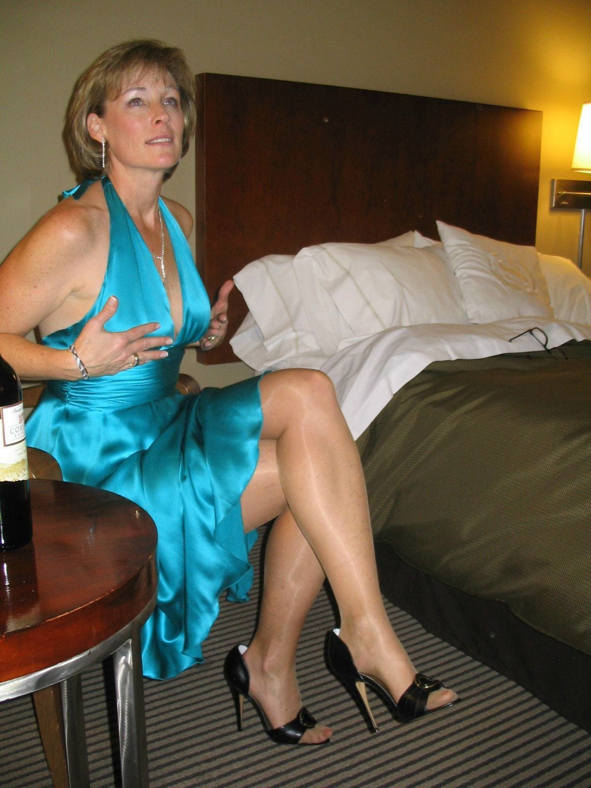 Hot mature older woman