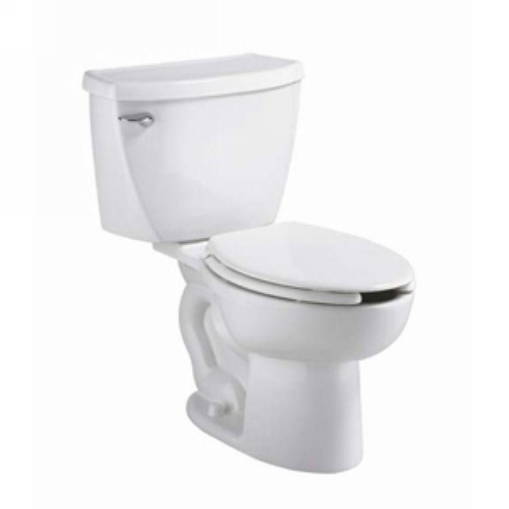 American Standard Cadet Pressure Assisted 2 Piece 1 6 Gpf Single Flush Elongated Toilet In White Seat Not Included 2462 016 020 American Standard Modern Toilet Commercial Toilet