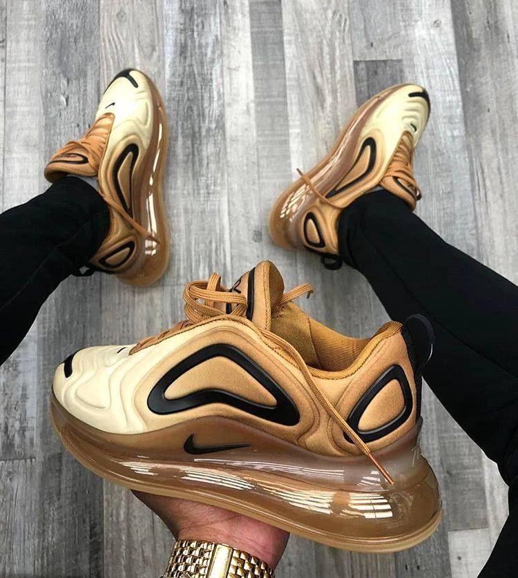 Nike Air Max 720 Gold | Nike schuhe, Nike schuhe damen ...
