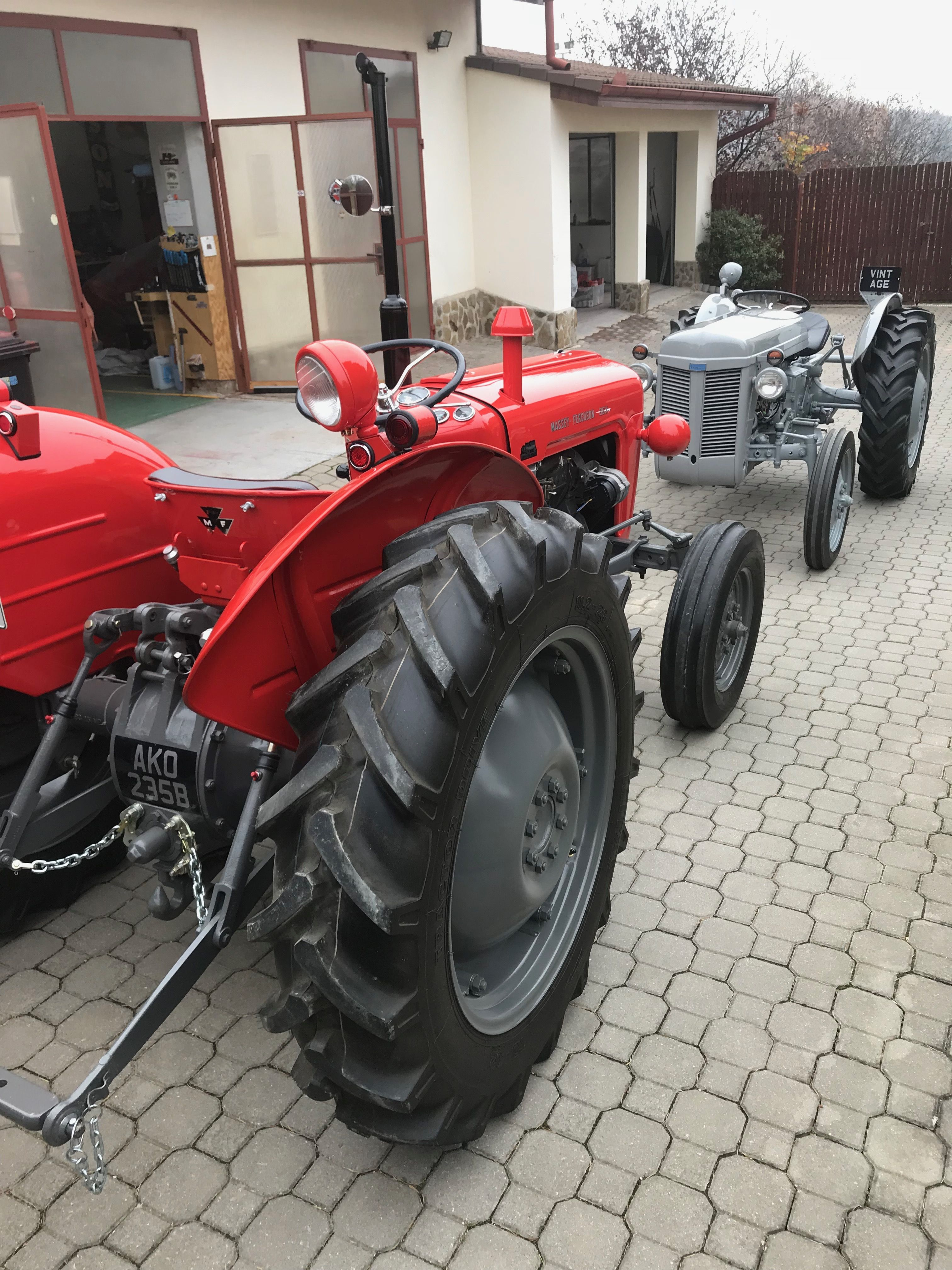 Pin by Willie Morris on Massey Ferguson TEA 20 | Tractors, Tractor