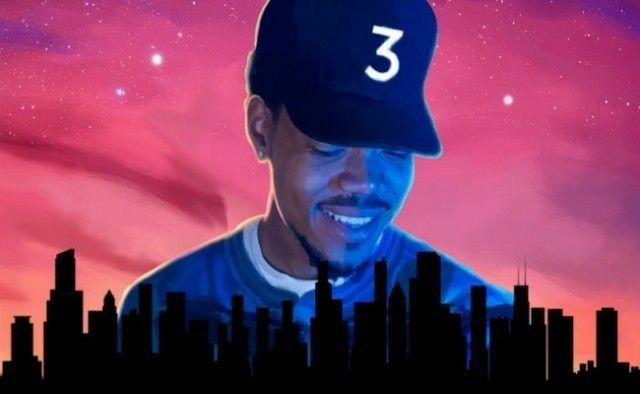 Chance The Rapper Coloring Book Album Mixtape Cover Chance The Rapper