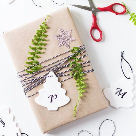 A specially designed Christmas gift tag for a special person! Serves as Christmas tree ornament as well.