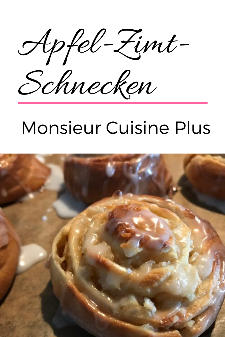 Apfel-Zimt-Schnecken – Monsieur Cuisine Plus