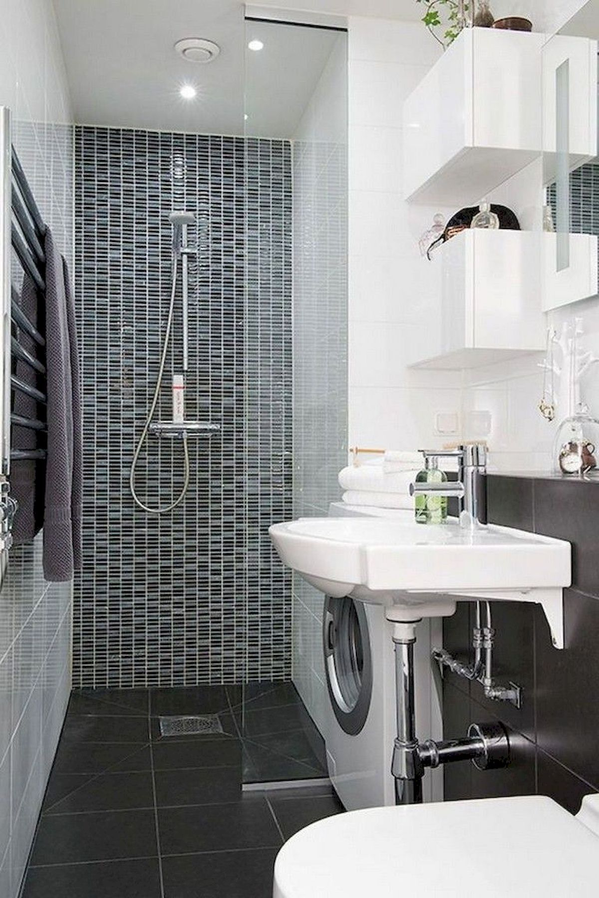 30 Stunning Small Bathroom Ideas On A Budget | Small ...