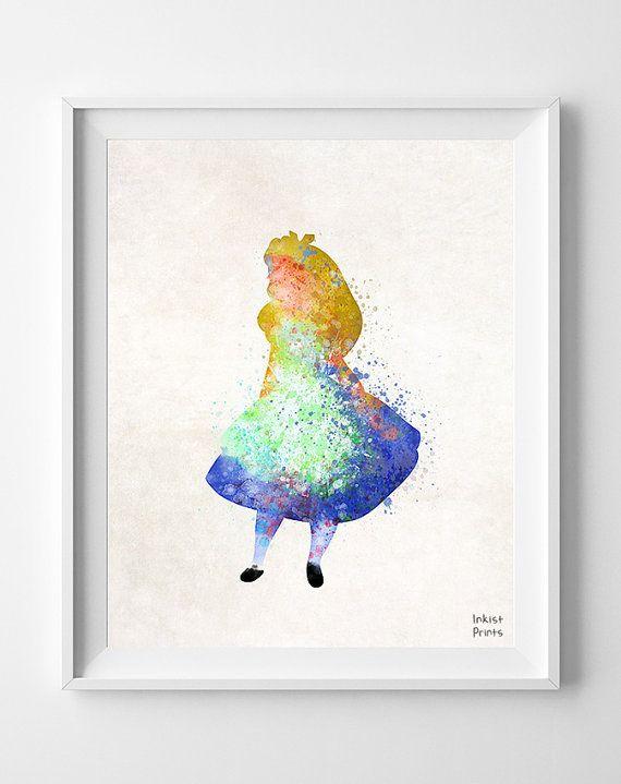 Alice In Wonderland Alice Watercolor Best Friend Gift