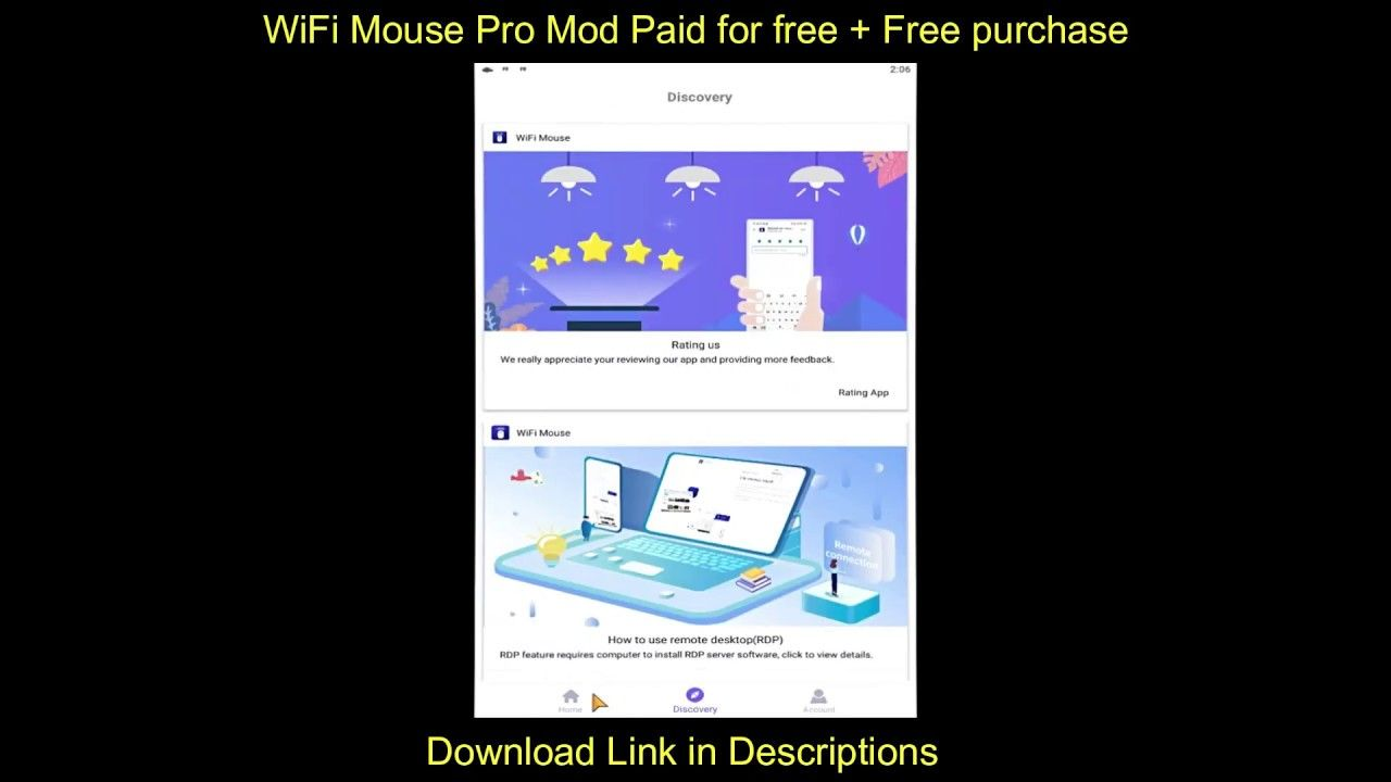 Wifi Mouse Pro Mod Apk 4 2 1 Paid For Free Free Purchase In