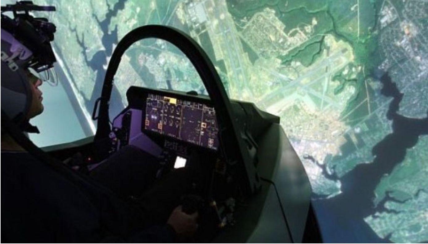 Εξομοιωτής F35 στη Διεθνή Έκθεση Θεσσαλονίκης! Pilot