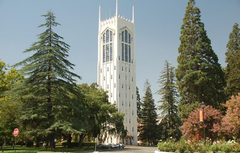 University Of The Pacific Burns Tower I Graduated 1971 School Of Pharmacy University Of The Pacific College Campus Campus