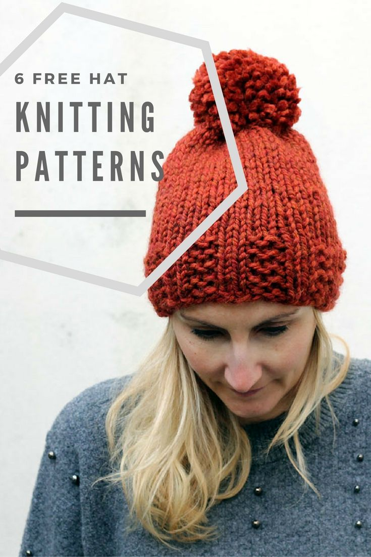 New Hat Knitting Patterns for The New Year!   Travaux d aiguilles (tricot,  crochet, etc.) - Modèles   Pinterest   Tricot, Aiguille tricot and Patron  tricot 1fceeaaa1c8