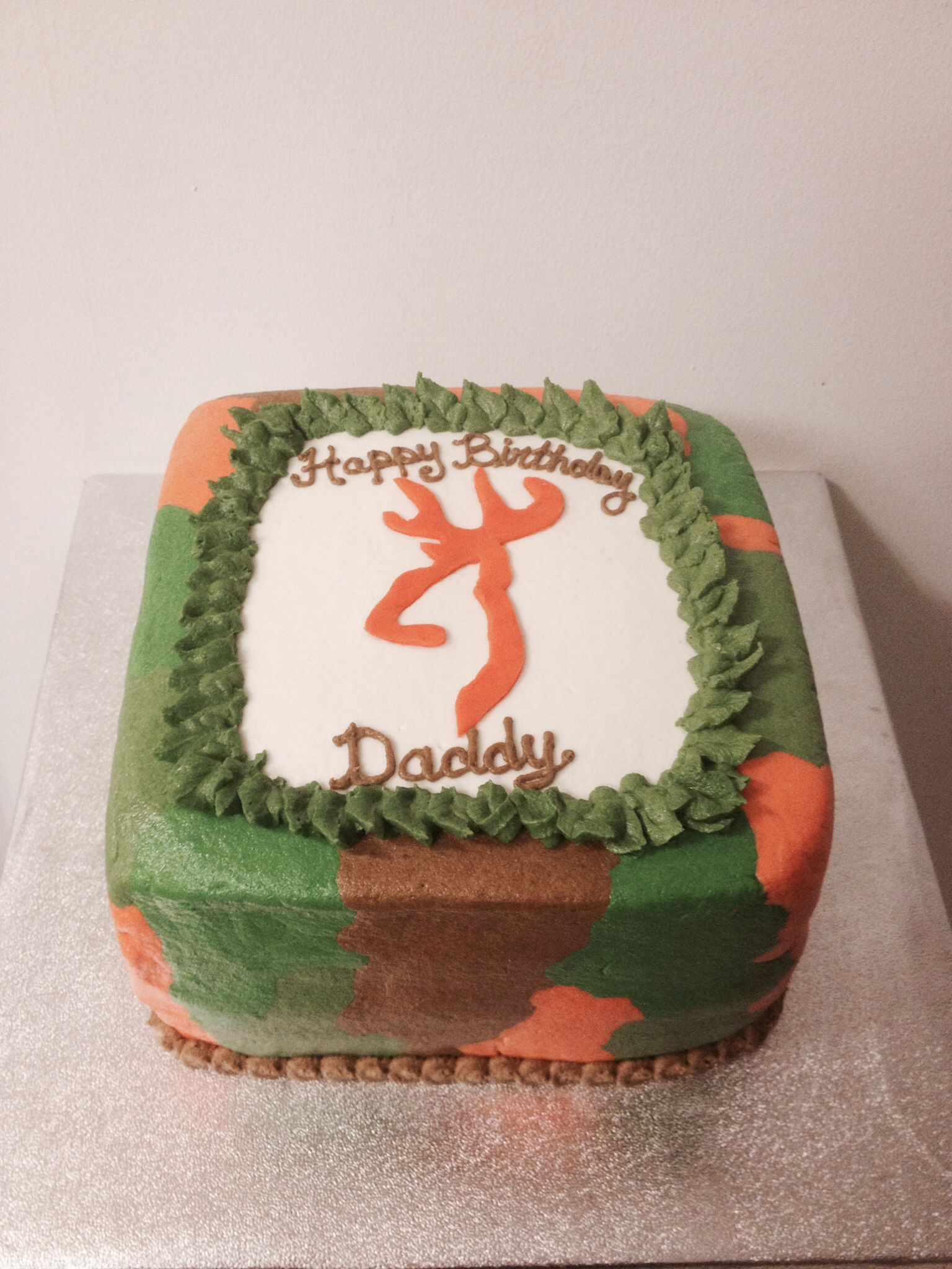Browning Deer Hunting Cake Made By Me Pinterest Cake And