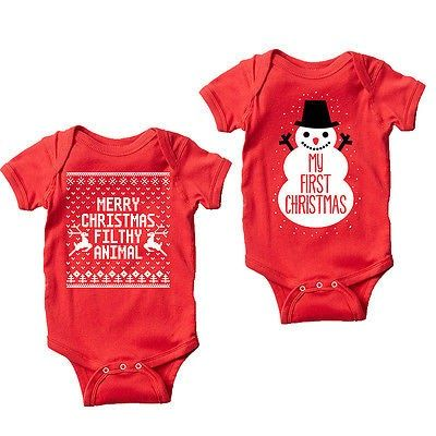 35971811f Discount This Month Newborn Baby Girls Boys Christmas Romper Santa ...