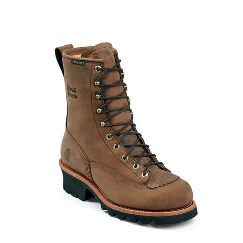 8 Bay Apache W P Lace To Toe Logger 73100 Waterproof Steel Toe Boots Chippewa Boots Mens Fashion Rugged