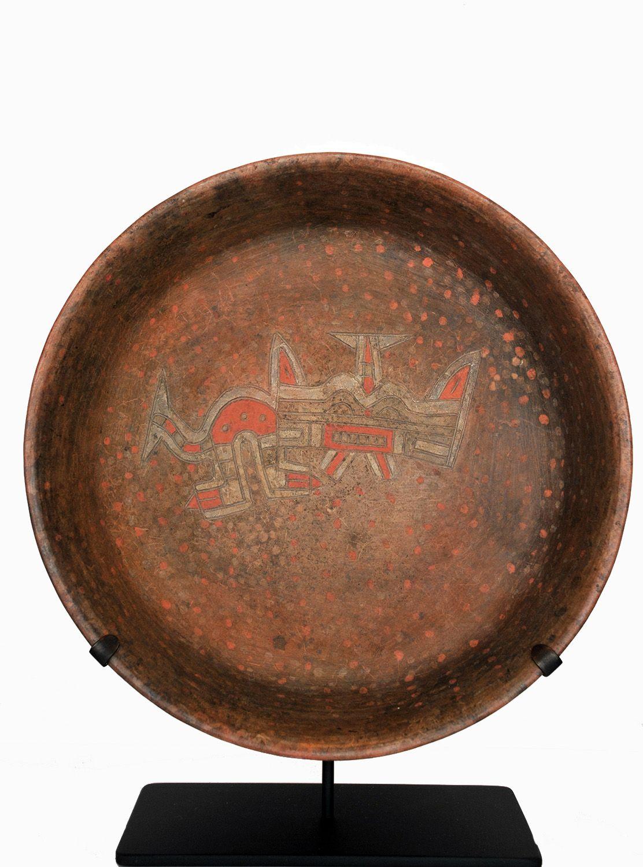 Paracas Culture - Peru 700 BC - 200 AD Terra-cotta