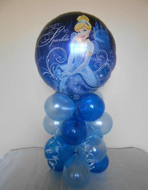 Cinderella Birthday Party Balloon Centerpiece By NightNightLight