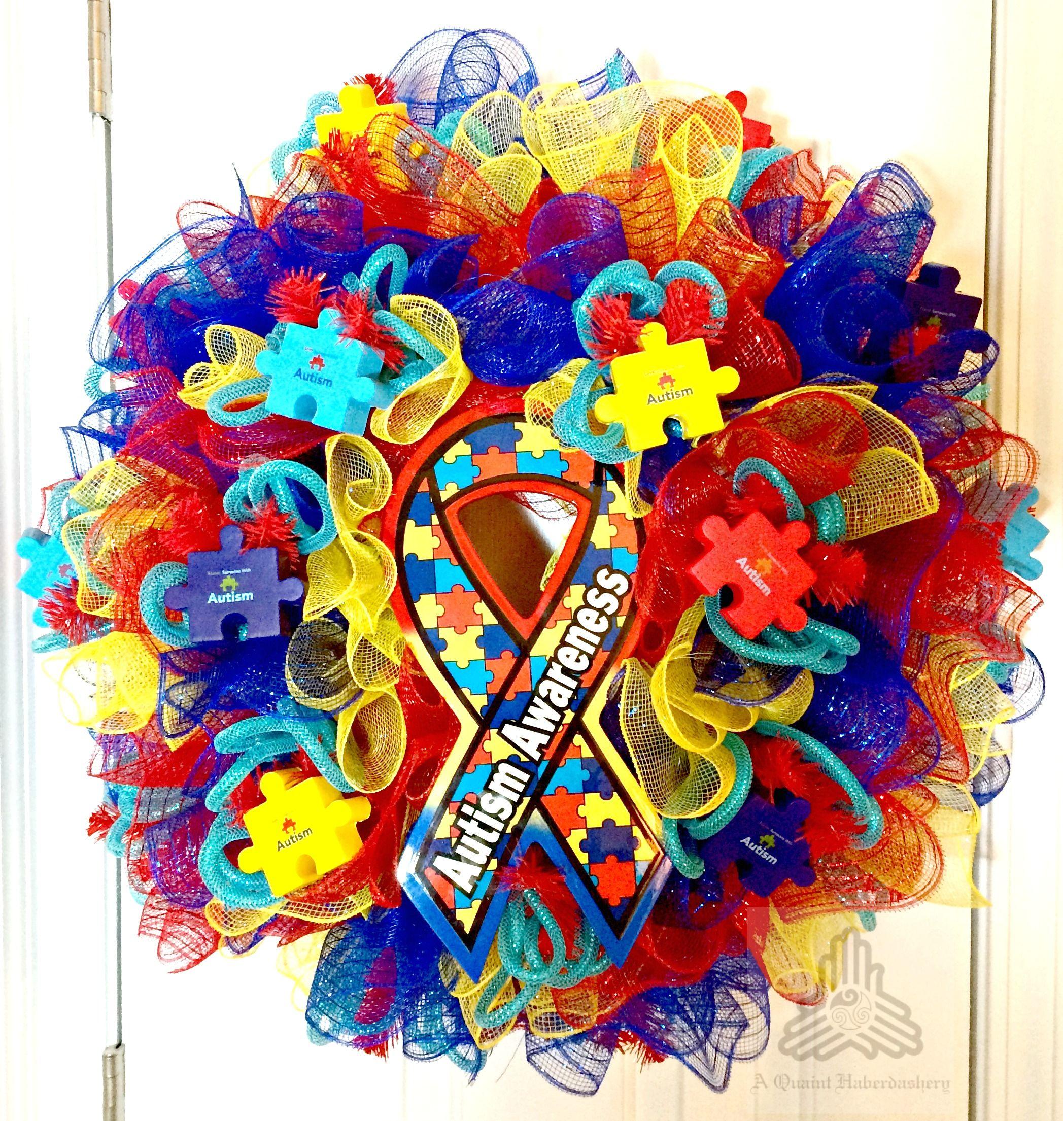 Custom order autism awareness autism awareness crafts