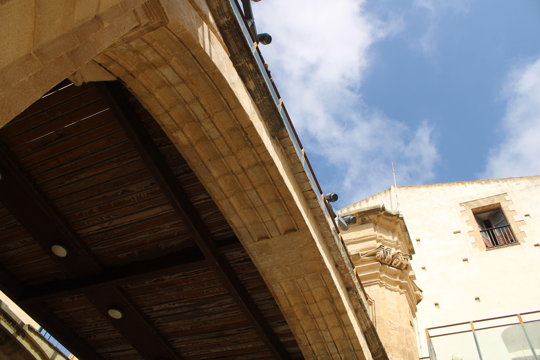 iglesia inacabada del Hospital de la Divina Providencia, en El Puerto de Santa María. zona del coro