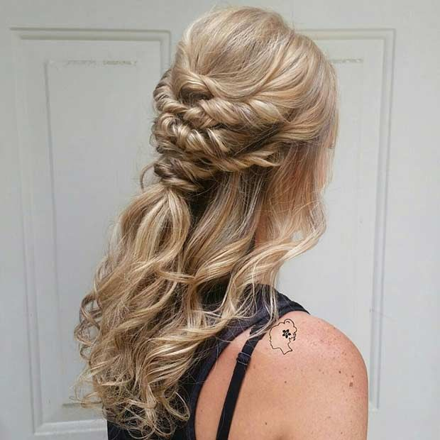 31 Half Up Down Hairstyles For Bridesmaids