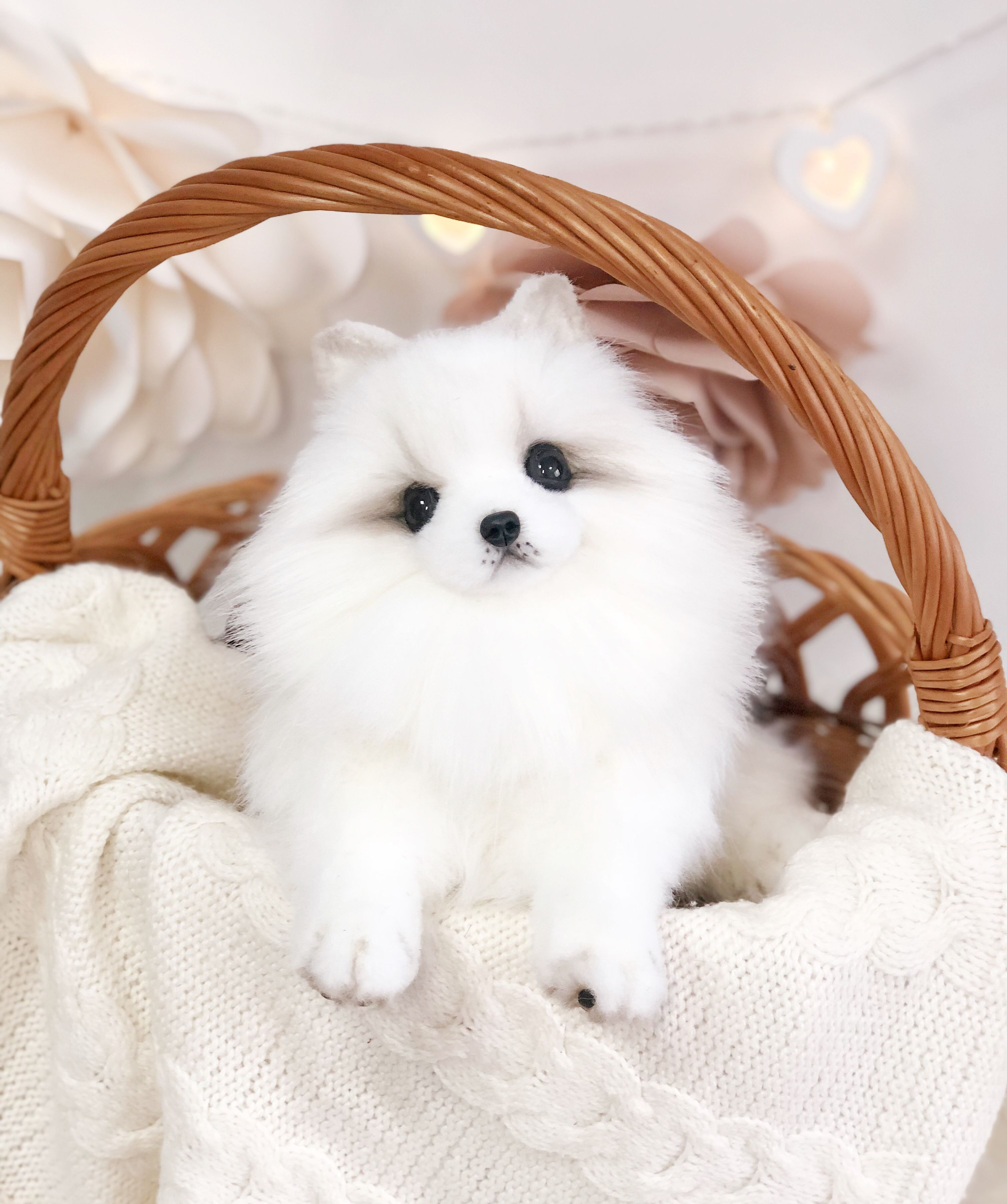 Pomeranian Realistic Stuffed Dog Spitz Real Size Adorable Etsy Realistic Stuffed Dog Pomeranian Stuffed Animal Teddy Dog [ 3616 x 3024 Pixel ]