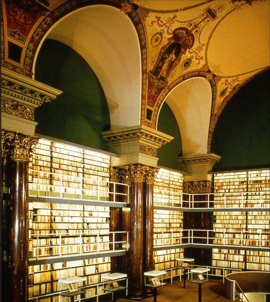 Gentleman Scholar Famous Libraries 図書室 建築物 世界