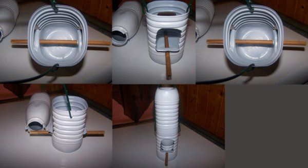 fabrication d 39 une mangeoire recyclage bricolage bo te conserve bouteille plastique pinterest. Black Bedroom Furniture Sets. Home Design Ideas