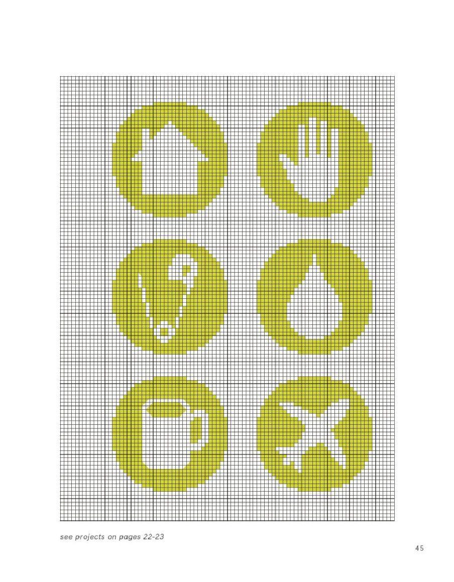 Un arco iris de puntos de sutura, bordado y principios básicos de punto de cruz y más de 1.000 Motivos y 80 Ideas de proyectos