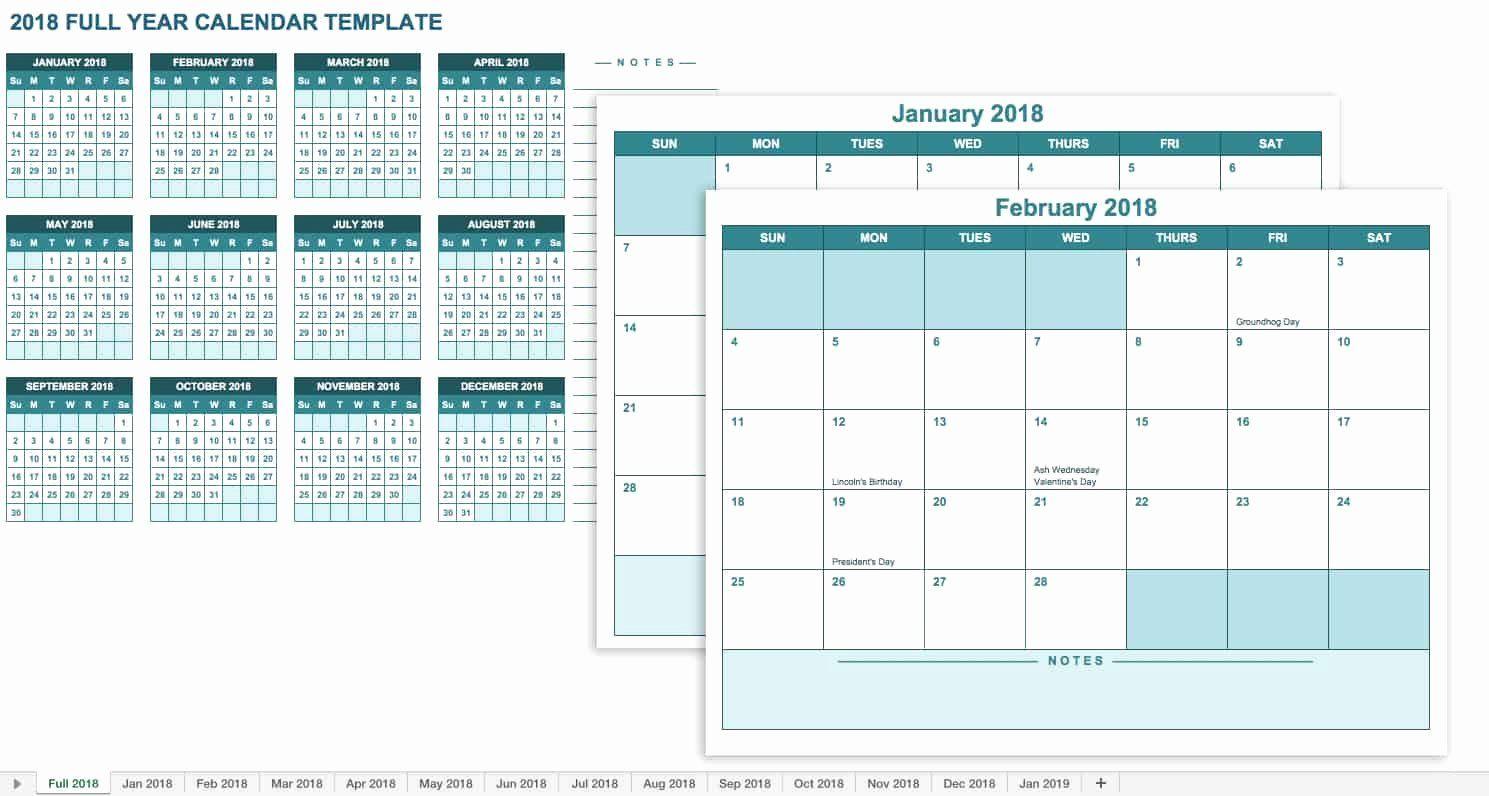 30 Monthly Schedule Template Excel in 2020 Excel
