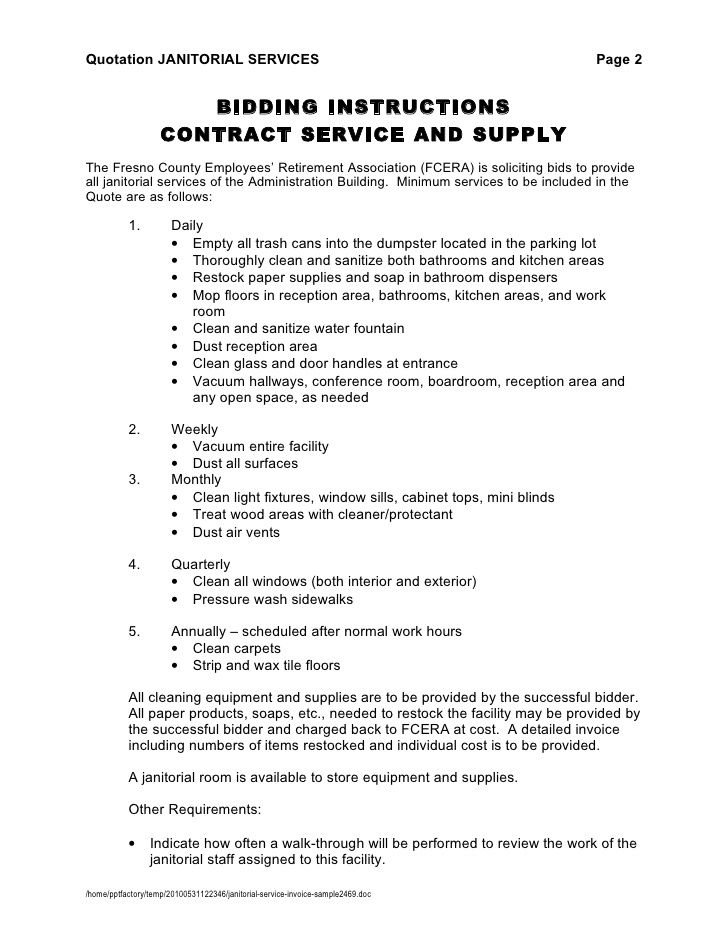 Pin by MZTINA™ on CLEANING BUSINESS Pinterest Resignation - service level agreement template