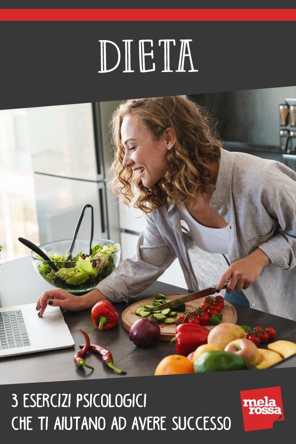 Dieta: 3 esercizi psicologici che ti aiutano ad avere successo