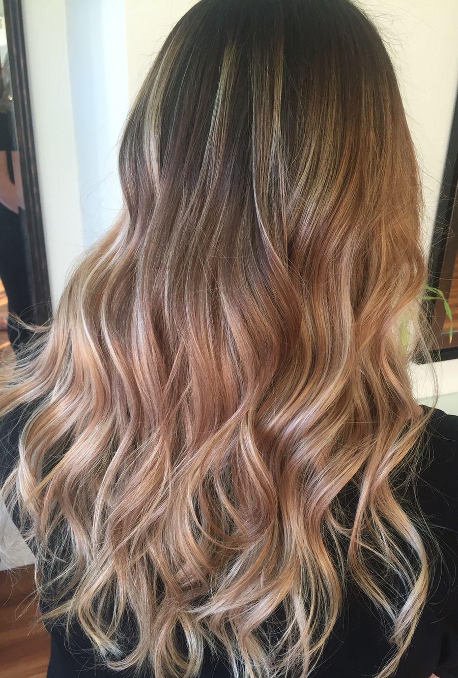 Blonde Balayage Color Melt Illumina 9 60 And Freelights