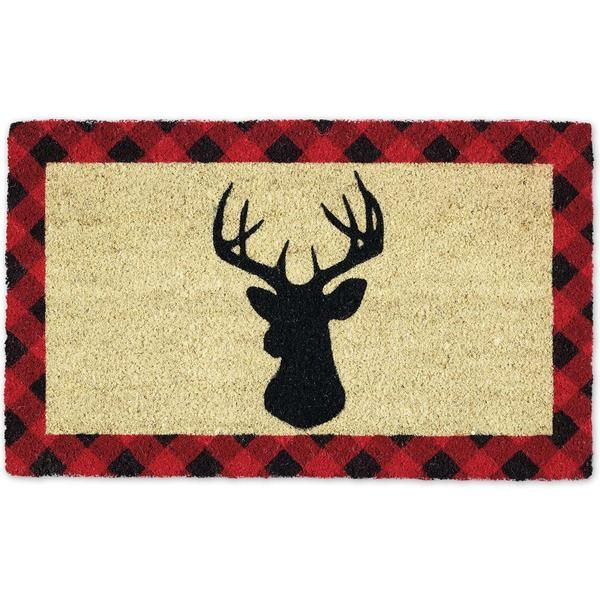 Holiday Stag Doormat