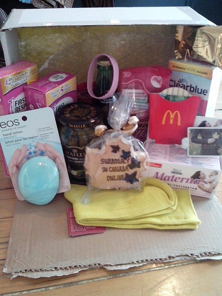 Tara received her mailed goodluck transfer goodie box this morning! ♥