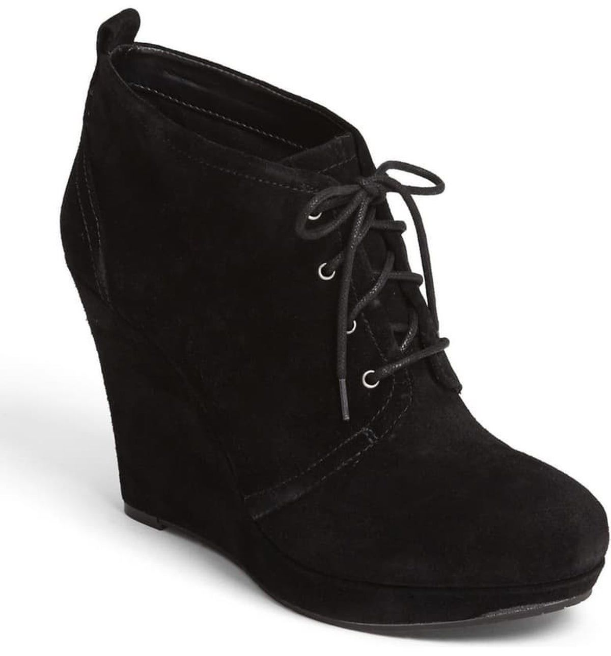 Wedge heel boots, Wedge ankle boots