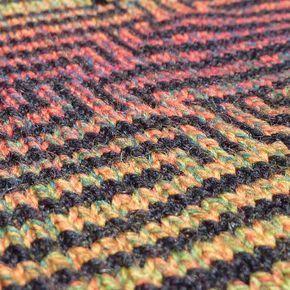 Multi Color Slip, Stitch patterns | Machine knitting ...