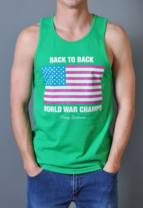 35851817 Back to Back World War Champs Tank Top - Let's Get Weird Edition ...