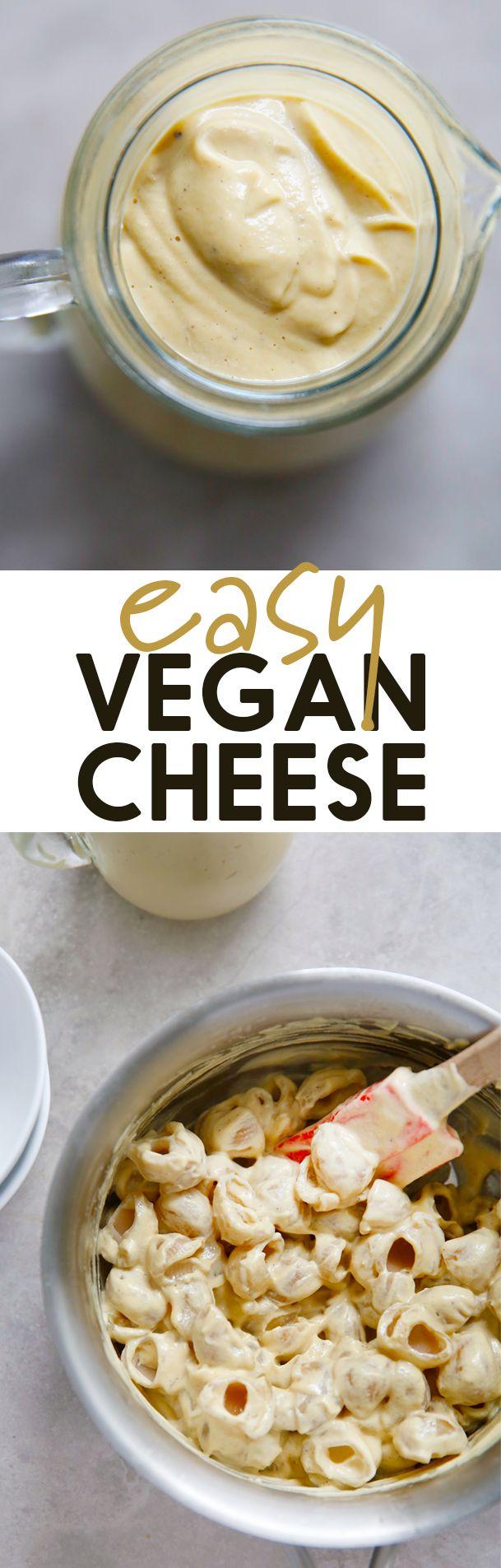How To Make Vegan Cheese Sauce Lexi S Clean Kitchen Recipe Vegan Cheese Sauce Vegan Cheese Recipes Vegan Cheese