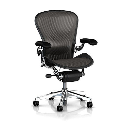 Herman Miller Executive Aeron Task Chair Highly Adjustable Wposturefit Lumbar Support Fully Adjus Herman Miller Office Chair Office Chair Luxury Office Chairs
