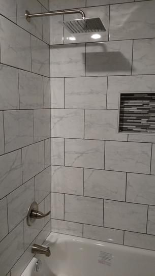 Daltile Marissa Carrara 10 In X 14 In Ceramic Wall Tile 14 58 Sq Ft Case Ma031014hd1p2 The Home Depot Bathroom Remodel Shower Bathroom Decor Modern Bathroom Decor