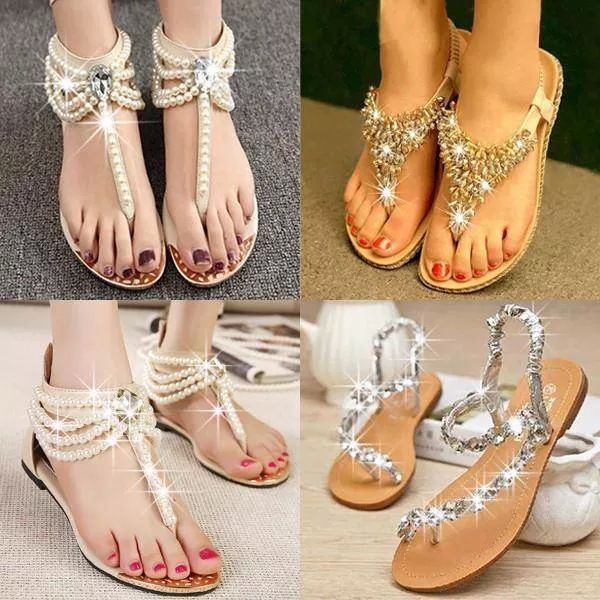 Chalany High Heels   Bling sandals