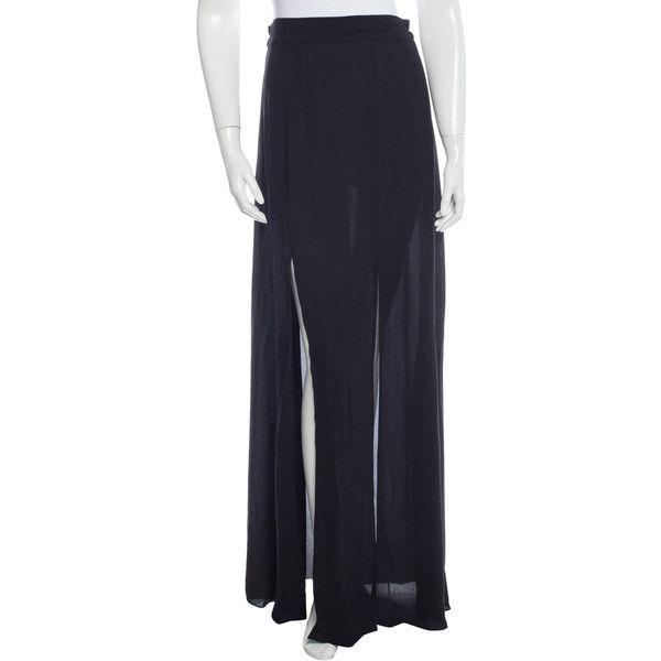 L agence long black dress 16