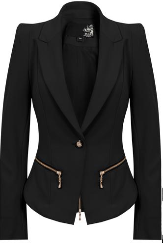 3a5b14844 Blazer feminino preto com bolço | BLAZER em 2019 | Roupas femininas ...