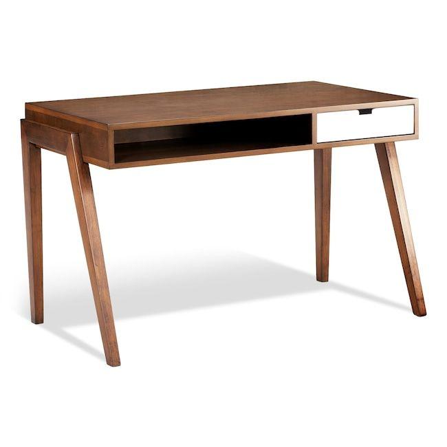 walnut home office furniture. Bradford Desk - Walnut Home Office Furniture F