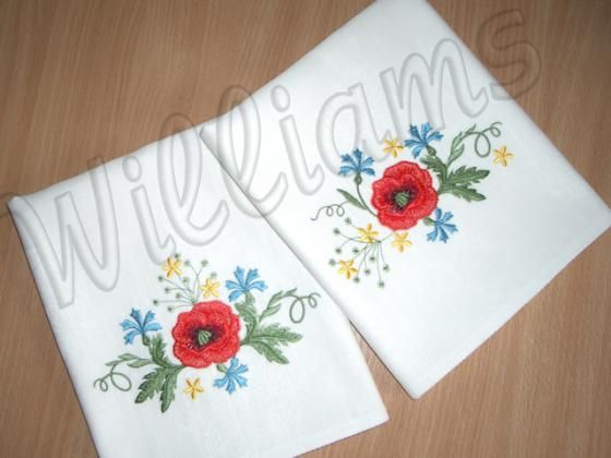 "Table napkins ""Wildflowers"" 