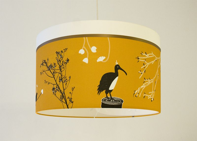 Hängelampen - 50 cm LUMINÖS Lampe LIG - ein Designerstück von luminoes