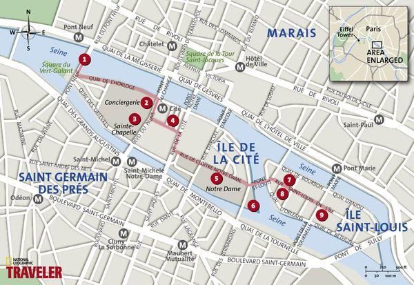 Paris Walking Tour Secrets Along The Seine National