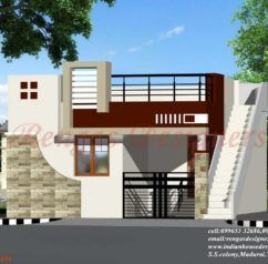 Front Elevation Single Floor Home Front Design Indian Style Hd Home Design,Bedroom Cabinet Design With Dresser