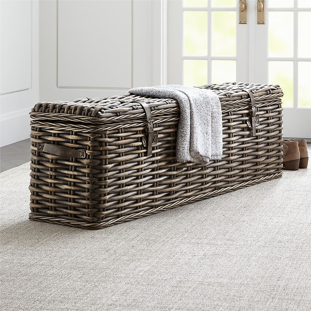 Jacoby Bedroom Trunk Crate and Barrel Home decor near
