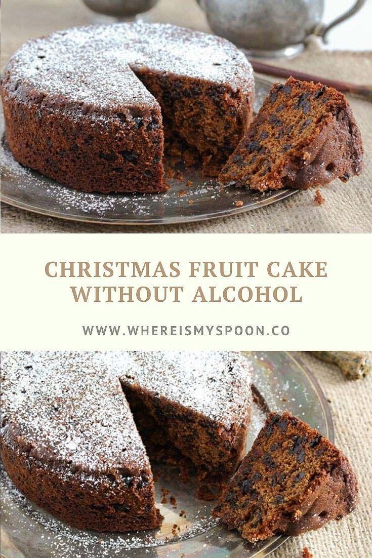 Easy Fruit Cake Recipe – Non Alcoholic Christmas Fruit Cake #bananapie