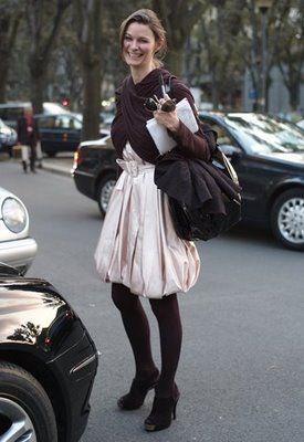 street style. great skirt