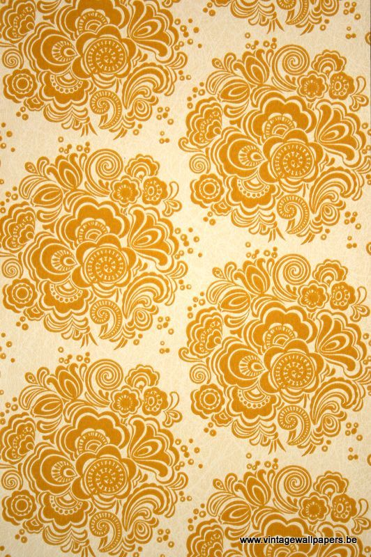 Geometric Wallpaper Baroque Style Pattern